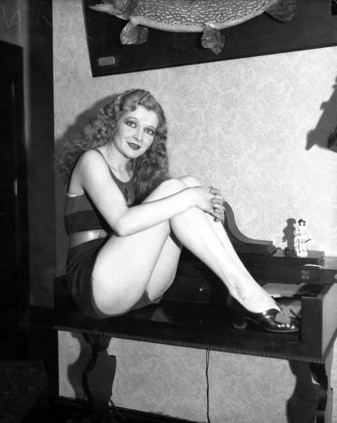 Beauty queen Evelyn Cushing, 24, circa Feb. 17, 1932.