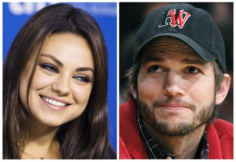 Mila Kunis (L), seen at the Toronto Film Festival on September 10, 2013 and Ashton Kutcher, seen at an LA Lakers game in Los Angeles May 1, 2012, are seen in a combination photo. Hollywood stars Ashton Kutcher and Mila Kunis are engaged to be married, according to US Weekly and the E! entertainment news website.     REUTERS/Mark Blinch/Alex Gallardo/Files   (UNITED STATES - Tags: ENTERTAINMENT) ORG XMIT: TOR905