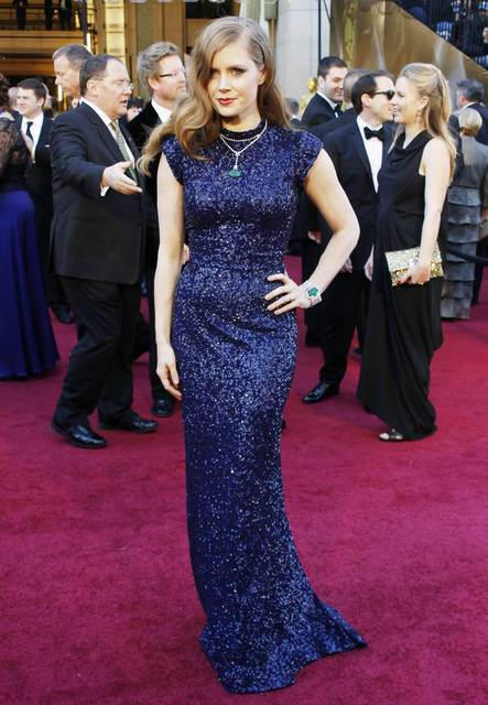"Actress Amy Adams wore L'Wren Scott to the 83rd Academy Awards in 2011. She was a best supporting actress nominee for her role in ""The Fighter""."