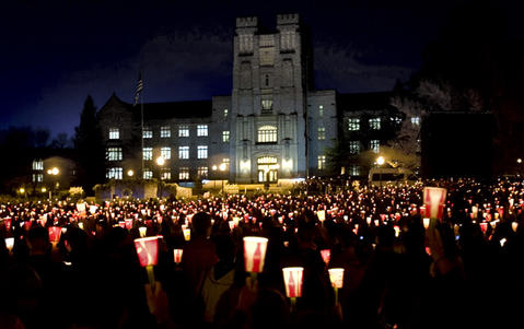 Virginia Tech remembering the fallen 32.Joe Fudge Photo Gallery.