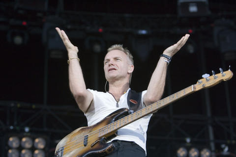"The Police (July 5-6, 2007): The reunion of Sting, Andy Summers and Stewart Copeland started slowly. The first three songs stretched to nearly 25 minutes, the leisurely jams in sync with the summer heat but sacrificing the trio's taut melodies. By the end, the pace had picked up and even the perpetually scowling Copeland flashed a grin during ""Every Breath You Take."" That had to qualify as a small victory, given that the drummer had described the band's performance on the tour's opening night a few weeks earlier as ""unbelievably lame."" This was more like ""adequately tame."" - Greg Kot"