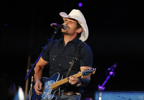 "Brad Paisley (June 9, 2012): The country singer, who's as indebted to classic rock guitar solos as Nashville twang, recast ""Sweet Home Chicago"" as a West Texas blues, and sang a duet with a Carrie Underwood hologram. Rumors flew that the real Carrie Underwood missed the first two innings because she was loitering in the beer garden at Murphy's Bleachers. - Greg Kot"