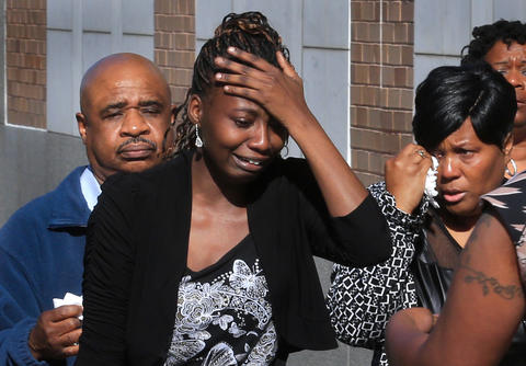Staff Photo Of The Week: March 29-April 4, 2014   John Ragin trial today Newport News Circuit Court ended this afternoon for the sentencing phase. Family members of Crystal Ragin (Center) Shelby Hancock react outside the courthouse to John Ragin only getting life in jail.
