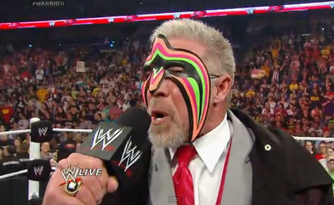 The Ultimate Warrior, whose real name was James Hellwig, one of U.S. professional wrestling's most celebrated athletes, died at the age of 54 on April 8. His death came days after he was inducted into the World Wrestling Entertainment Inc Hall of Fame.
