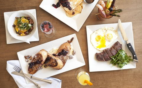 A new brunch menu including Steak and Eggs, Buttermilk Pancakes, French Toast and a Bloody Mary and Mimosa bar is now available at Commonwealth Tavern