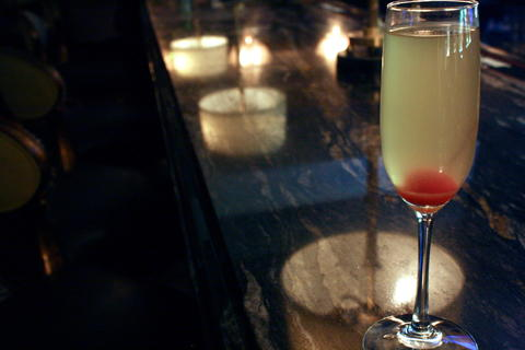 Price: $11 Ingredients: Absolut Apeach, pineapple and Prosecco A refreshing champagne cocktail, the pineapple juice separates this from your typical bellini.
