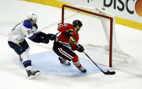 Marcus Kruger: Game 3 vs. Blues.