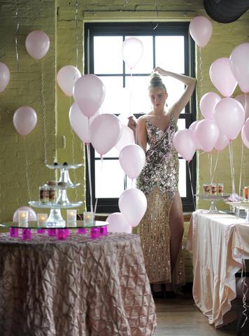 Elle: Primavera gown, $369, promgirl.com