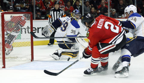 Duncan Keith: Game 6 vs. Blues.