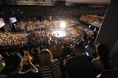 A look at UFC 172 from high above.