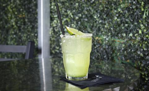 Price: $11 Ingredients: tequila, cucumber puree, margarita mix With the cucumber puree this drink is more refreshing than your average margarita on a hot summer day.