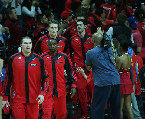 The Bulls take the court for Game 5.