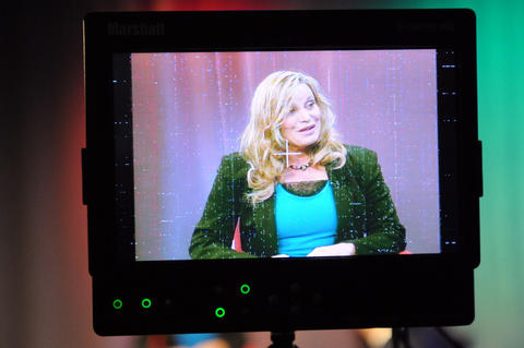 "Marsha Karp, producer of ""Cameras Rolling,"" filmed the May episode on West Hartford Community Television."