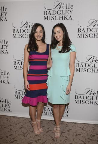 Annemarie Dillard and Alexandra Dillard attend Badgley Mischka Celebrates The Kentucky Derby With Special Appearance At Dillards.