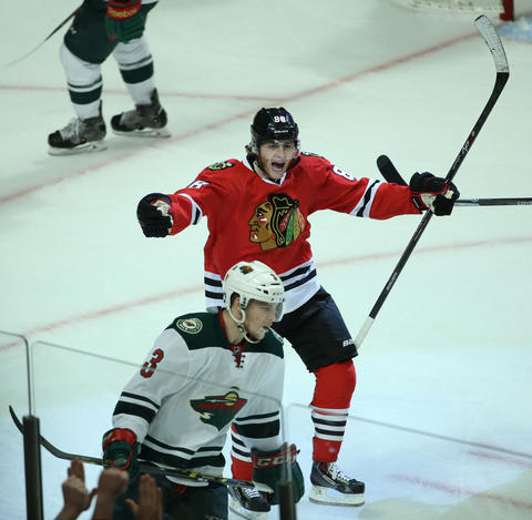 Patrick Kane: Game 1 vs. Wild.