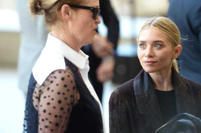 Lisa Love and Ashley Olsen
