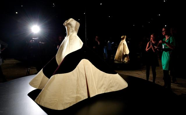 A preview of the exhibit 'Charles James: Beyond Fashion' at the Anna Wintour Costume Center.