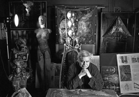 Swiss artist H. R. Giger was a surrealist painter, sculptor, and set designer, and was part of the special effects team that won an Academy Award for Best Achievement for Visual Effects for their design work on the film 'Alien'.
