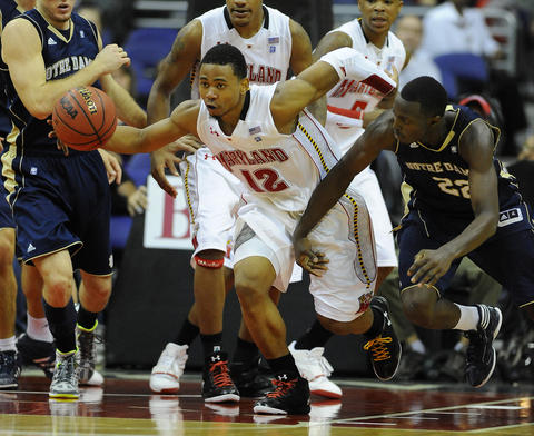 Meeting again in the BB&T at Verizon Center, the Terps scored their first signature win of the Mark Turgeon era. Terrell Stoglin (pictured) scored 31 points and Sean Mosley added 17 in Maryland's 78-71 victory.