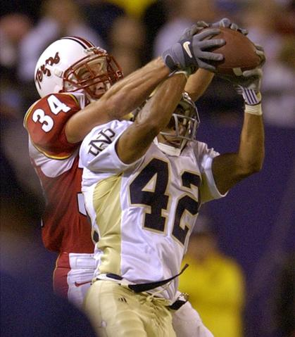 A year after making their lone appearance in a BCS bowl, Maryland kicked off its 2002 season with a nationally televised game against Notre Dame at Giants Stadium. The Irish rolled to a 22-