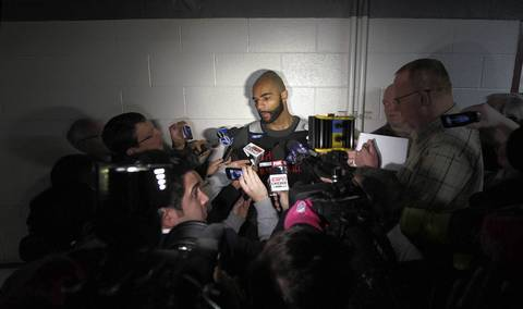Carlos Boozer talks about the trade of 10-year-veteran and teammate Luol Deng.