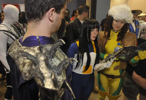 Hartford Comic Con drew a crowd at the XL Center Saturday.