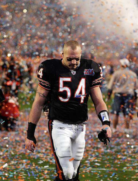 10. Feb. 4, 2007: Colts 29, Bears 17. Super Bowl XLI began encouragingly for the Bears as Devin Hester returned the opening kickoff 92 yards for a touchdown on a rainy evening in Miami. Making their first Super Bowl appearance in 21 years, the Bears trailed 22-17 going into the fourth quarter before the Colts' Kelvin Hayden intercepted a Rex Grossman pass and returned it 56 yards for the clinching touchdown. Grossman completed 20 of 28 passes for 165 yards and a touchdown but threw two interceptions as Peyton Manning claimed his only Super Bowl championship.