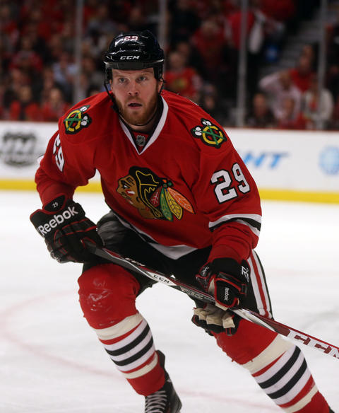 F Bryan Bickell, 28, signed through 2016-17, $4 million cap hit Chris Kuc says: Locked in as one of the Hawks' Top 9 forwards; needs to find consistency throughout a full season