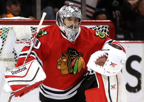 G Corey Crawford, 29, signed through 2019-20, $6 million cap hit Chris Kuc says: Cup-winning goalie is among the league's best and will be back in his starting role.