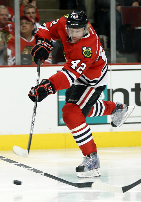 F Joakim Nordstrom, 22, signed through 2014-15, $616,667 cap hit Chris Kuc says: Surprise addition to the roster could again contribute as a depth player.