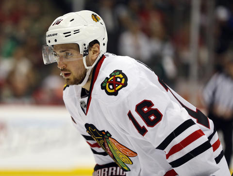 F Marcus Kruger, 24, signed through 2014-15, $1.325 million cap hit Chris Kuc says: A valuable asset as a penalty killer with flashes of playmaking skills. He'll be back.