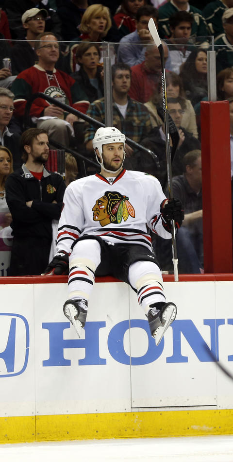 D Brent Seabrook, 29, signed through 2015-16, $5.8 million cap hit Chris Kuc says: Forms arguably NHL's top defensive pairing along with Keith. Veteran is back.