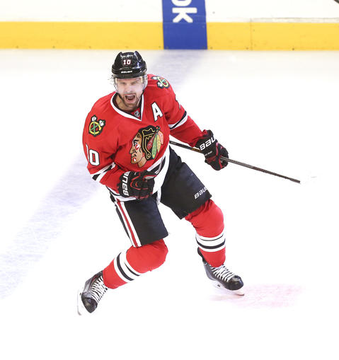 F Patrick Sharp, 32, signed through 2016-17, $5.9 million cap hit Chris Kuc says: Led the Hawks with 34 goals during regular season. If a core member does go at some point to free cap space, could be a candidate.
