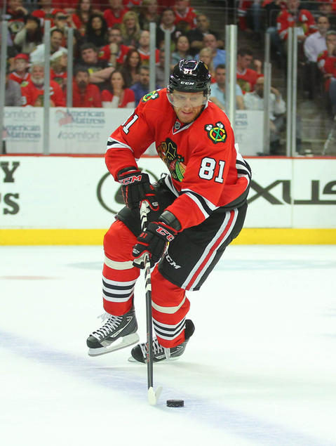 F Marian Hossa, 35, signed through 2020-21, $5.28 million cap hit Chris Kuc says: Remains one of the NHL's top two-way players and is a fixture in the Hawks' lineup.