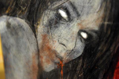 Adam Miller's girl zombie.
