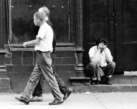 Skid Row on West Madison Street near Halsted Street, circa Sept. 19, 1963.