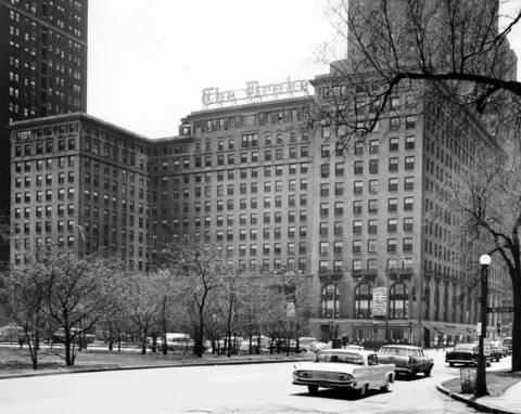 The Drake Hotel, circa Aug. 3, 1959.