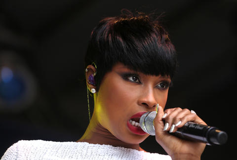 Jennifer Hudson performs at Chicago Pride Fest in Lakeview.
