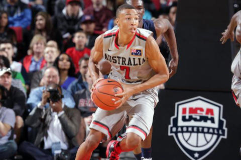 Exum is the most mysterious and unproven projected top-5 pick in this year's draft. The potential is definitely there, as Exum is a 6-6, long-armed point guard who averaged 17.2 and 18.2 points a game in back-to-back years at the FIBA World Championships. But what worries you is his youth and the lack of talent he's faced. At only 18 years old, the Australian product didn't opt to play a year in NCAA despite offers from programs such as Georgetown and Indiana. The 76ers already have budding star Michael Carter-Williams at point guard, but it appears they're still interested in Exum. They could either trade Carter-Williams or put the two long-armed, explosive guards on the floor together.