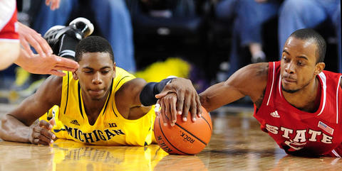 Robinson still has a long way to go, but his potential is there. He can shoot, rebound and defend, and could back up Kevin Durant. Thabo Sefolosha is a liability offensively, and he and Robinson could combine to form a complete wing man. Robinson excelled at Michigan both his freshman and sophomore seasons and has a chance to be as good of a pro as his dad, Glenn, in the long run.