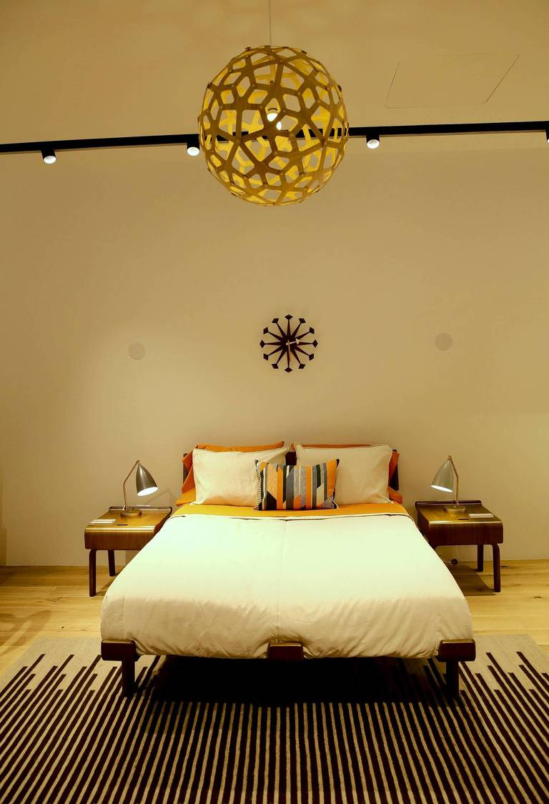 design within reach lighting. A Bedroom Is Displayed Sunday, June 22, 2014 At Design Within Reach In Chicago Lighting R