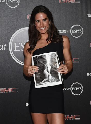 Boxer Danyelle Wolf arrives at the ESPN's BODY at ESPY's Pre-Party.