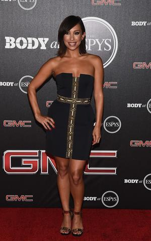 Dancer Cheryl Burke arrives at the ESPN's BODY at ESPY's Pre-Party.