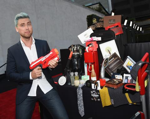Musical artist Lance Bass arrives at the ESPN's BODY at ESPY's Pre-Party.