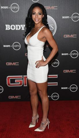 U.S. Soccer player Sydney Leroux arrives at the ESPN's BODY at ESPY's Pre-Party.