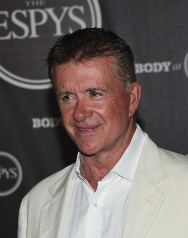 Actor Alan Thicke arrives at the ESPN's BODY at ESPY's Pre-Party.