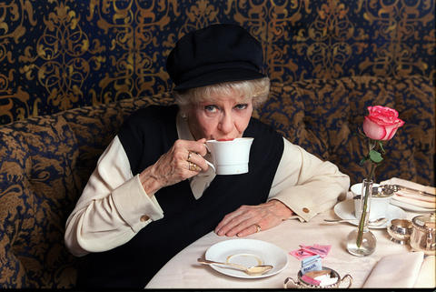 Elaine Stritch, shown in March 2003, became a signal interpreter of songs by Noel Coward and Stephen Sondheim. She died at age 89.
