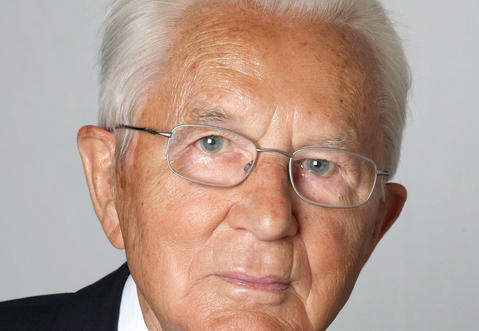 Karl Albrecht, co-founder of global discount supermarket chain Aldi and Germany's richest person, died July 16 at age 94, according to a statement from Aldi.