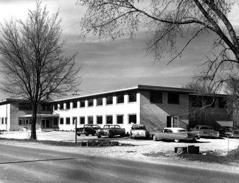 May 8, 1959: The Lisle Medical Center located at Illinois Highway 53 and Lacey Road.
