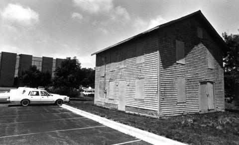 June 26, 1986: What was originally built as a tavern around 1841 is now a boarded-up structure along Ogden Avenue, down the hill from the Beaubien family cemetery, which has been purchased by DuPage County.